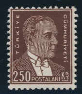 Turkey #757-773 ** 1932-34 10pa To 250k Issues, Includes Ataturk High Value (#757 Fine NH), 1933... - Turkey