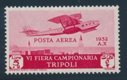 Libya #C4-C7 * 1932 Airmails, Set Of 4, Hinged, Fine-very Fine. Scott US$ 207.00 - Libya