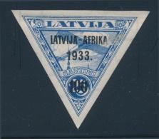 Latvia #C9-C13 ** 1933 10s-100s Airmails Overprinted LATVIA-AFRIKA/1933, Set Of 5 Well Centered,... - Latvia
