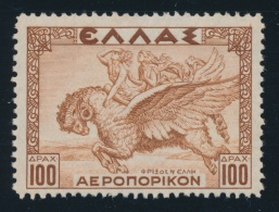 Greece #C22-C30 ** 1935 1d To 100d Historical Legends Airmail Set, Fresh, Very Fine And Never... - Greece