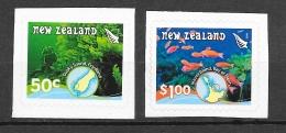 New Zealand 2008 Korallenriffe MARINE LIFE 2v MNH** - Nuovi