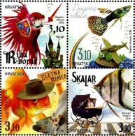 Croatia - 2016 - Pets - Aquarium Fishes - Mint Stamp Set - Croatia