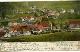 67 Cpa Souvenir De Waldersbach ( Ban De La Roche)   190(?) - France