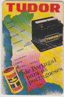 Calendar - 1976 - Pilhas//Baterias - Tudor (dobra Na Horizontal) - Calendars