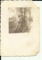 CROATIA  -  WW2  --    3 X  ORIGINAL PHOTO  --   9 Cm X 6 Cm  ---   NDH    --  OFFICER IN DEUTSCHE UNIFORM  ( SLECHTE ZU - 1939-45