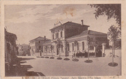 SAN GIACOMO DI VEGLIA ( Vittorio Veneto)  /  Asilo Infantile - Via Isonzo _ Viaggiata 1936 - Treviso