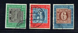 100 Jahre Deutsche Briefmarken  Mir 113-5 - Oblitérés