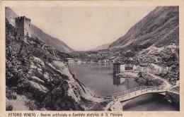 VITTORIO VENETO /  Bacino Artificiale E Centrale Elettrica Di San Floriano _ Viaggiata 1934 - Treviso