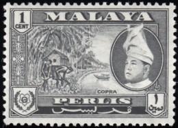 MALAYA Perlis - Scott #29 Raja Syed Putra / Mint H Stamp - Perlis