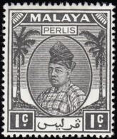 MALAYA Perlis - Scott #7 Raja Syed Putra / Mint NH Stamp - Perlis