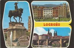 PN196 - POSTAL - LOGROÑO - BELLEZAS DE LA CIUDAD - La Rioja (Logrono)
