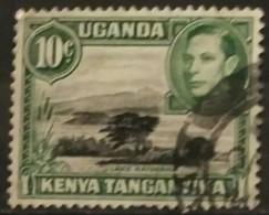 KENYA- UGANDA 1952. Visit Of Queen Elizabeth II (as Princess) And Duke Of Edinburgh. USADO - USED. - Kenya (1963-...)