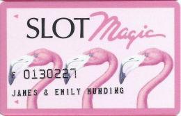 Flamingo Hilton Casino Las Vegas, NV - Slot Card - Casino Cards