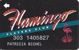 Flamingo Casino Las Vegas, NV - Slot Card - Web Address On Reverse - Casino Cards