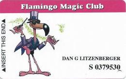 Flamingo Hilton Casino Lauglin, NV - Slot Card - PPC Over Mag Stripe - Casino Cards