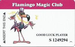Flamingo Hilton Casino Lauglin, NV - Slot Card -CPICA 28318 Over Mag Stripe - GOOD LUCK PLAYER - Cartes De Casino