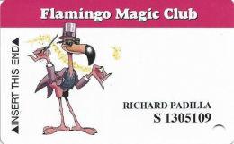 Flamingo Hilton Casino Laughlin, NV - Slot Card - CPICA 2009028 Over Mag Stripe - Casino Cards