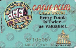 Four Queens Casino Las Vegas, NV -  Slot Card - PPC Over Mag Stripe - Casino Cards