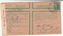 Australia / Forces Airmail / Military Mail / Censorship - Australia