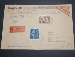 ALLEMAGNE - Enveloppe De Dresden Contre Remboursement En 1944 , Affranchissement Plaisant - A Voir - L 2580 - Briefe U. Dokumente