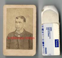 Pas Courant-format Identité Cartonnée-second Empire-jeune Homme Format 4x 6,3cm - Photographs
