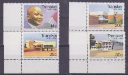 Transkei 1986 Independance 4v (corner) ** Mnh (32185) - Transkei