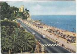 Finale Ligure: OPEL REKORD P2 CARaVAN, CITROËN DS, FIAT 1100 - Via Aurelia E Spiaggia A Levante - (Italia) - Passenger Cars