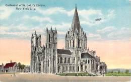 USA - New-York - Cathedral Of St. John's Divine - Églises