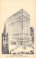 USA - New-York - Hotel St. Regis, Fifth Avenue At 55th Street - Cafés, Hôtels & Restaurants