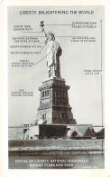 USA - New-York - Liberty Enlightening The Wolrd, Statue Of Liberty National Monument Bedloe's Island - Statue De La Liberté