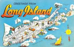 USA - Long Island - Greetings - Long Island