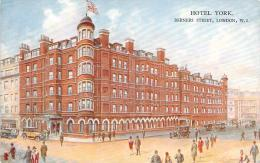 USA - London - Hotel York, Berners Street - Etats-Unis