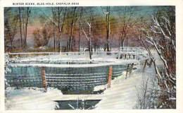 USA - Castalia - Winter Scene, Blue Hole - Etats-Unis
