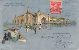 USA - St-Louis - Official Souvenir World's Fair St-Louis 1904, Palace Of Transportation - St Louis – Missouri