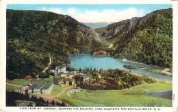 USA - View From Mt. Abenaki, Showing The Balsams, Lake Gloriette And Dixiville Notch - Etats-Unis