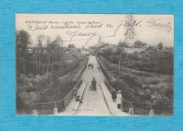 Hauteville ( Marne ). - La Côte - Avenue Des Ponts. - Other Municipalities