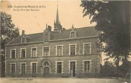 - Depts Divers -ref- KK631 - Ille Et Vilaine -  Argentre Du Plessis - Ecole Libre De Garçons - Ecoles - Ecole - - Sonstige Gemeinden