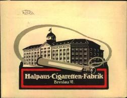 1926, Advertising Covers, Lettre Publicite, Reklame, Werbung, Tabak, Tobacco, Cigarettes, Breslau - Tobacco