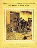 RECITS PATRIOTIQUES DUR LA GUERRE DE 1870-71 LE SIEGE DE METZ - Protège-cahiers