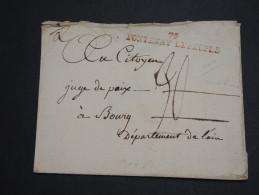 """FRANCE - Enveloppe Avec Marque Postale """" 79 Fontenay Le Peuple """" Pour Bourg - A Voir - L 2618 - Marcophilie (Lettres)"""