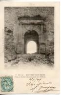 26. Montbrun Les Bains. Porte D'entrée Monumentale Du Chateau - Non Classés