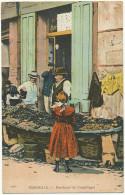 Marchand De Coquillages à Marseille Seafood Seller - Händler
