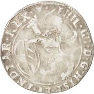 Pays-Bas Espagnols, TOURNAI, Escalin, 1622, B+, Argent, KM:41 - Belgium