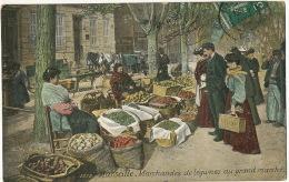 Marchandes De Legumes  à Marseille Marché Central Couleur Edit LVC - Händler