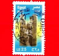 EGITTO - USATO - 2011 - Archeologia - Faraone - Ramses II - 2.5 - Egypt