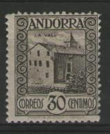 ANDORRE Espagnol:  N°21A *       - Cote 120€ -