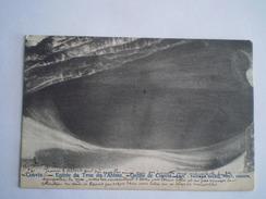 Couvin (Villegiature) (Namur) 2 Cartes Entree Du Trou De Abime Avec Tapisserie Des Grottes   //  1906/05 Ed.Dalcq - Couvin