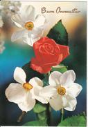 Auguri Buon Compleanno Fiori Flowers Rose Narcisi - Compleanni