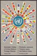 UN - United Nations New York 1961 MNH Souvenir Folder - Year Pack - Nuevos