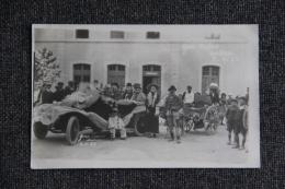 SISTERON - Carnaval Du 2 Avril 1923 - Gens Cossus. - Sisteron